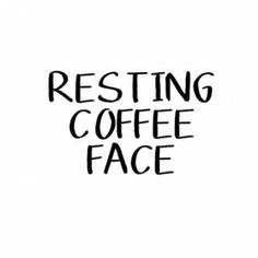 Resting Coffee Face Canvas Art - Linda Woods(24X24)