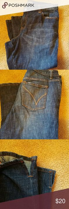 Lane Bryant capris 22 inch inseam. 17 across the waist. Perfect condition. Came with slight distressing. Perfect for summer. Lane Bryant Jeans Ankle & Cropped