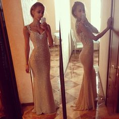 Bling Beaded Sequin Corset Mermaid Sweetheart Long Length New Arrival Gold Best Selling Formal Dress Luxury Real Evening Dress Prom Dress Online with $76.97/Piece on Cc_bridal's Store | DHgate.com