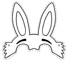 Kinder Maske Ostern Hase
