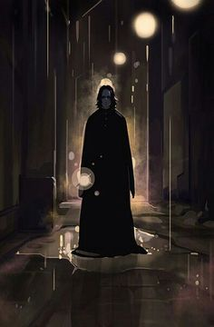 It's almost like the Snape board was meant to be exposed because now fan art just keeps falling in front of me and like, I have to pin it of course. Harry Potter Severus Snape, Harry Potter Anime, Harry Potter Fan Art, Harry Potter Universal, Harry Potter Fandom, Harry Potter World, Draco Malfoy, Hermione Granger, Professor Severus Snape