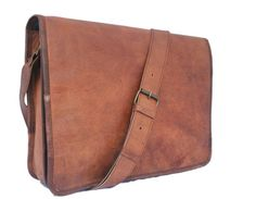 Get your hand on the most amazing looking brown vintage leather messenger bag for men. One of the best looking leather laptop bags available in USA. Military Messenger Bag, Brown Leather Messenger Bag, Vintage Messenger Bag, Leather Crossbody Bag, Leather Shoulder Bag, Messenger Bags, Shoulder Bags, Vintage Leather, Leather Men
