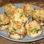 Crab and Maine Lobster Stuffed Mushrooms - Lobster Recipe