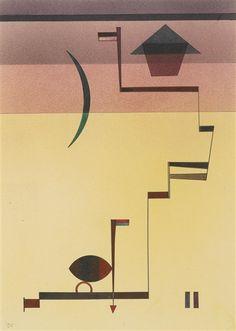 Wassily Kandinsky, Angular, 1931