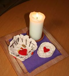 Lenten Prayer Pots from Explore and Express