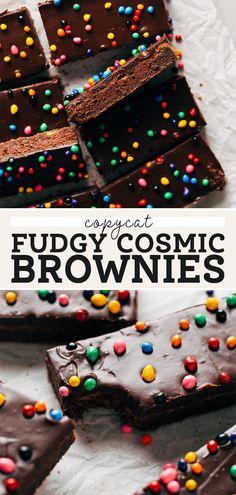 Fudgy Brownie Recipe, Brownie Toppings, Brownie Recipes, Brownie Desserts, Candy Sprinkles, Chocolate Sprinkles, Chocolate Icing, Chocolate Flavors, Deserts