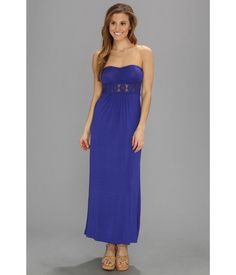 Sip a sweet drink by the sparkling ocean in this Lucy Love® Cabo Maxi Dress.. Maxi dress features ...