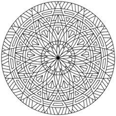 Geometrip. Cool geometric designs for coloring.