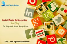 Social Media Optimization best way for Improved Brand Recognition. Visit here www.digitalwebriders.com