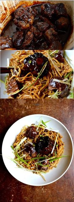 Braised Oxtail Noodles Recipe by the Woks of Life