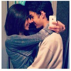 "How to do a cute couple ""selfie"""