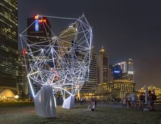 Gallery of SUTD Professors Bring Parametric Design To Light in Illuminated 3D Printed Installation - 5
