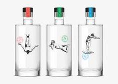 Resultado de imagen de botellas de cristal para licores