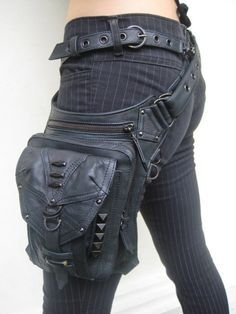 This Cyberpunk Bag would look really cool with a outer-space cowboy kind of…