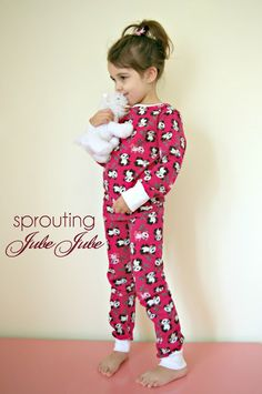 5309c4d80f Sprouting JubeJube  PJ s for Spring Break Fashion Sewing