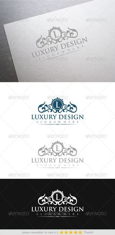 Luxury Design — Vector EPS #floral #vintage • Available here → https://graphicriver.net/item/luxury-design/6478175?ref=pxcr