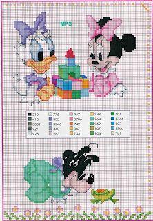 Sandrinha Ponto Cruz: Disney Baby