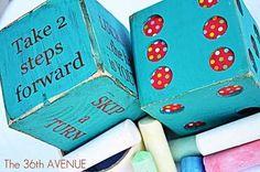 Good Idea: Make a Giant Outdoor Board Game (bible themed)