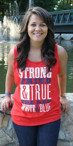 Tried and True Tank | Southernly Stated - $20.00 - Size Medium- One color..