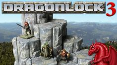 DRAGONLOCK™ is a 3D printable snap-link dungeon and outdoor terrain system for RPGs and wargames. Join the 3D printing revolution!