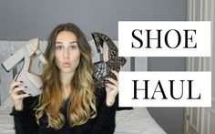 Shoe Haul / Haul Zapatos!! Asos, Primark, Steve Madden... Youtube Video. Trendencies TV