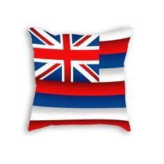 Hawaii Flag Pillow Cushion