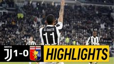 The football match between Juventus vs Genoa. After a very important early goal by Brazilian star Douglas Costa, the final result of the game is Juventus Genoa. Watch Football, Football Match, Video Juventus, Italian League, Match Highlights, Genoa, Costa, Goals, Baseball Cards