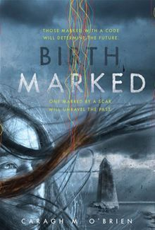 Birthmarked by Caragh M. O'Brien. Sixteen-year-old Gaia Stone and her mother faithfully deliver their quota of three infants every month to the Enclave. But when Gaia's mother is taken away by the very people she serves, Gaia must question whether the Enclave deserves such loyalty.