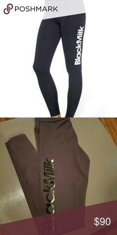 Black milk logo gym legs DO NOT BUY on hold! 2 pair white logo and black logo Blackmilk Pants Leggings