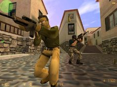 The legendary Counter Strike 1.6 with unbelieveable weapon physics and horrible gun models. (love it)