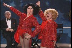 Ann Miller and Debbie Reynolds, Leg Up! SNL.