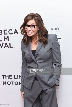Gina Gershon attends 'Permission' Premiere - 2017 Tribeca Film Festival at SVA Theatre 2 on April 2017 in New York City. Gina Gershon, Tribeca Film Festival, April 22, Tuxedos, Showgirls, Classic Hollywood, Theatre, Cinema, Beautiful Women