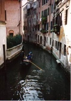 Venice--where I found some great fettuccine! @cookingchat post