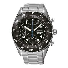 Seiko Men's SNDG57P1 Chronograph Watch