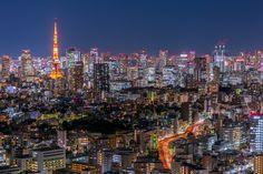 Tokyo Tower, Naha, Sapporo, Nikko, Fukuoka, Hiroshima, Yokohama, Kyoto, New York Skyline