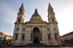 St. Stephen's Basilica (Hungarian: Szent István-bazilika) is a Roman Catholic basilica in Budapest, Hungary. It is named in honour of Stephen, the first King of Hungary (c 975–1038), whose mummified fist is housed in the reliquary.