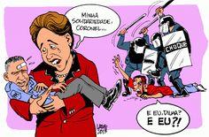 A solidariedade seletiva da presidenta Dilma