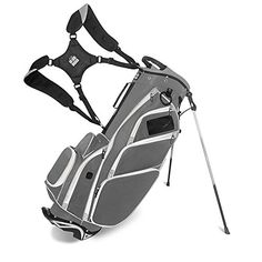 Best Golf Bags | JCR Golf 550039 DL550 Stand Bag CharcoalGrayBlack ** Find out more about the great product at the image link. Note:It is Affiliate Link to Amazon.