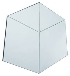 Interesting faceted shapes are combined to create a hexagonal mirror. Contemporary Wall Mirrors, Modern Mirrors, Bedroom Furniture, Modern Furniture, Sofa Design, Interior Design, Home Accessories, Upholstery, Dining Table