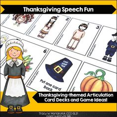 Quick, fun Thanksgiving-themed game that can be combined with other activities!