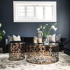 @villafloris Deco Blue, Living Room Inspiration, Malta, Bedroom, Elegant, Interior, Table, Furniture, Home Decor