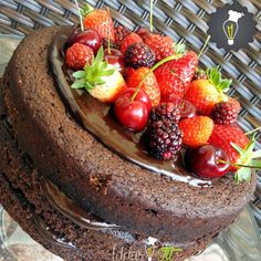 Ideias Fit: Naked cake 2