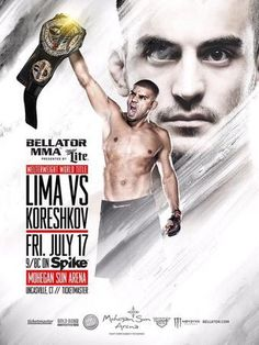 Bellator 140: Lima vs. Koreshkov Fightcard
