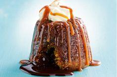 Sticky date molten lava choc pudding main image