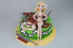 scaffold cake, hot chick cake, bikini, tort z walącym się rusztowaniem, rusztowanie, www.rogwojskiego.pl