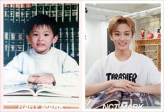 NCT Recreates Childhood Photos For Children's Day Jisung Nct, Nct Taeyong, Mark Lee, Winwin, Baby Pictures, Baby Photos, Sleep Pictures, Grupo Nct, Childhood Photos