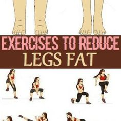 Simple Exercises to Reduce Legs Fat
