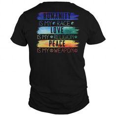 HUMANITY IS MY RACE BELIEF T-Shirts & Hoodies