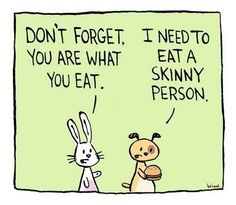 My most favorite weight loss cartoon of all times.