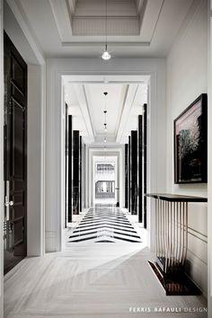 Ferris Rafauli | Architecture by Ferris Rafauli - interior design hallway inspiration